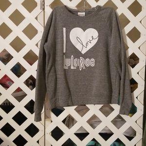 Lularoe Ladies Sweatshirt Size Large